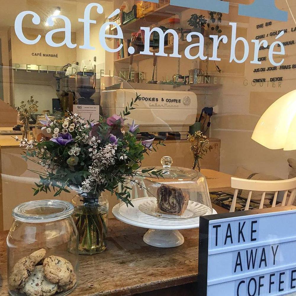 Café Marbré Coffee shop parisien